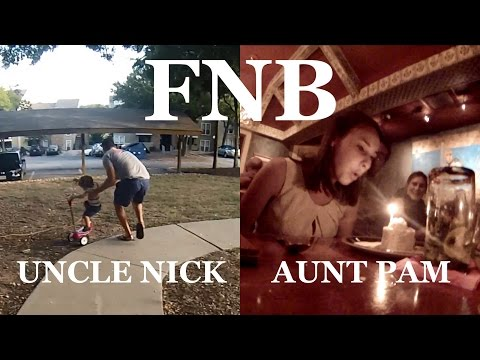 Family Night Bytes - Uncle Nick Babysits And Aunt Pam's 30th Bday