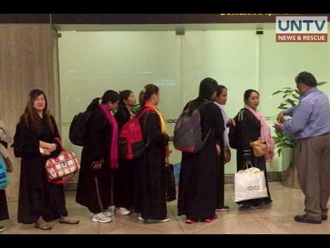 New batch of stranded OFWs in Dammam, Saudi Arabia gets repatriated