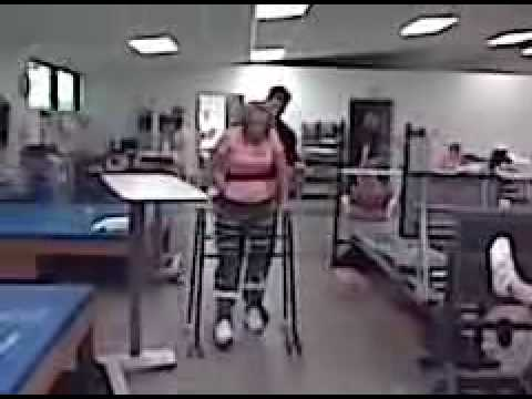 Andrea- Leg braces Video