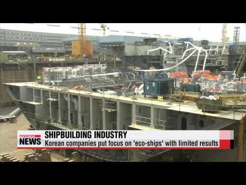 Korean shipbuilders lag behind as China rises