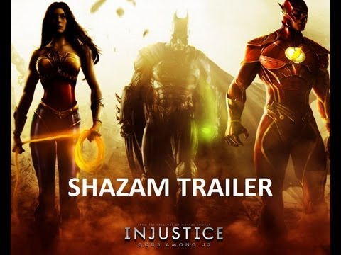 Injustice: Gods Among Us Shazam (Captain Marvel) Trailer