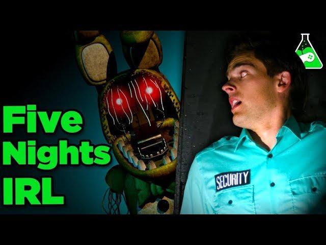 Can YOU Survive FNAF IRL? | Free Episode Game Lab FNAF