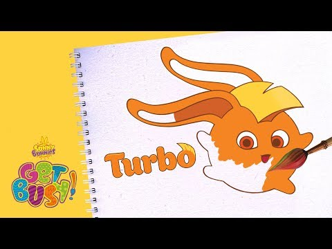 BRAND NEW - SUNNY BUNNIES | Drawing Turbo | Arts & Crafts | Cartoons for Kids