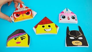 2019 THE LEGO Movie 2 McDonald's Happy Meal Toys Style Bookmarks
