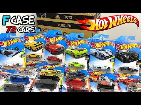 Unboxing Hot Wheels 2018 F Case 72 Car Assortment!