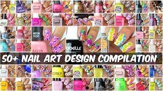 50 + Best Nail Art Designs Compilation   New Nail Art 2017   Part 1