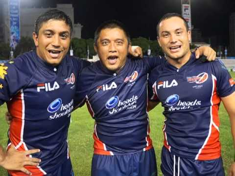 The Philippine Volcanoes Rugby Team Screams for Wazzup Pilipinas