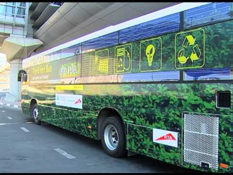 Check out the RTA's new green bus!