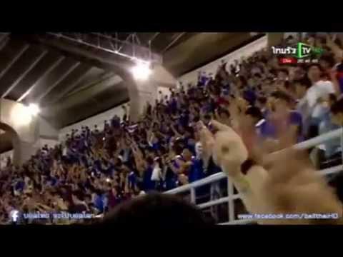 เสี้ยววินาที ทีมชาติไทย  ทีมชาติอิรัค ฟุตบอลโลก 2015  Thailand Iraq Fifa World Cup 2015
