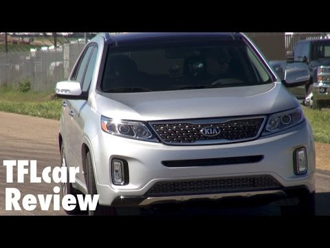 2015 KIA Sorento 0-60 MPH Test & Track Review: A Fish out of Water?