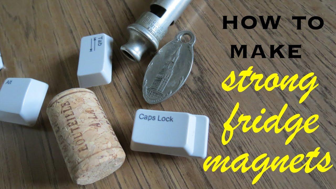 Как самому сделать на магните