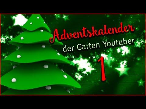 Adventskalender Der Garten YouTuber - Tür 1