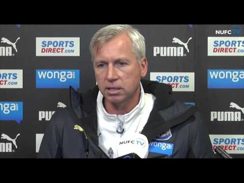 Alan Pardew looks ahead to Tyne-Wear derby