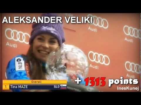 Tina Maze - the BEST SEASON of the alpine skier in HISTORY (all 2012/13 races) MP3