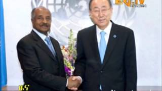 Eritrean Foreign Minister holds talks with UN Secretary General