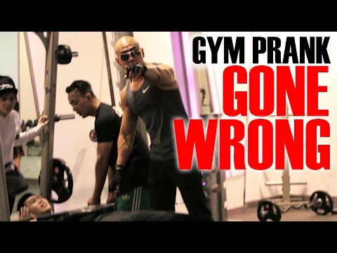 GYM PRANK ON DEDDY CORBUZIER GONE WRONG!