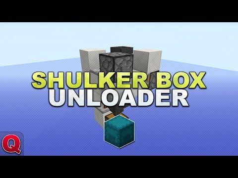 Minecraft - Shulker Box Entladestation - (Quick) Tutorial 1.12