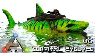 ARK: SURVIVAL EVOLVED - POISON & ALPHA MEGALODON TAMING !!! E08 (MOD ANNUNAKI PROMETHEUS RAGNAROK)
