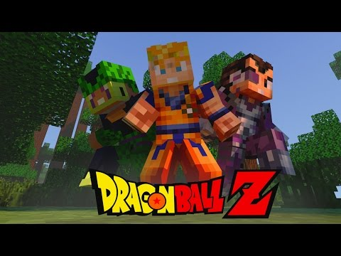 Minecraft Mods - MORPH HIDE AND SEEK - DRAGON BALL Z MOD