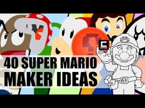 40 Super Mario Maker Ideas in 800 Seconds.