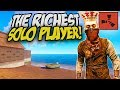 BECOMING The RICHEST SOLO PLAYER Rust Solo Survival Gameplay mp3