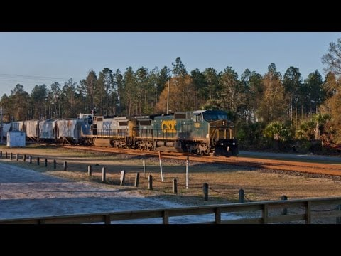 HD: Railfanning Folkston, GA 2013 Edition - Part 2 - 03-16-13