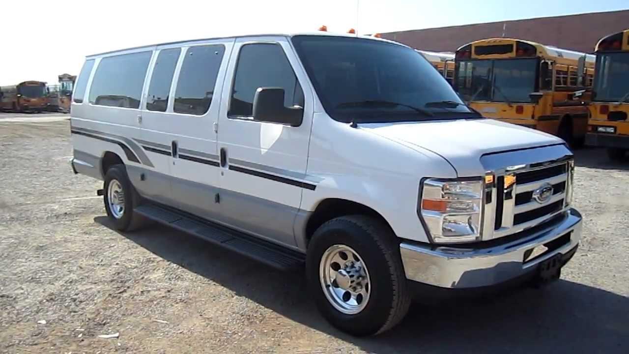 2009 Ford E350 15 Passenger Van For Sale Youtube