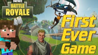 FORTNITE BATTLE ROYALE: My Very First Game of Fortnite | Lets Play Fortnite Battle Royale PVP | OMG