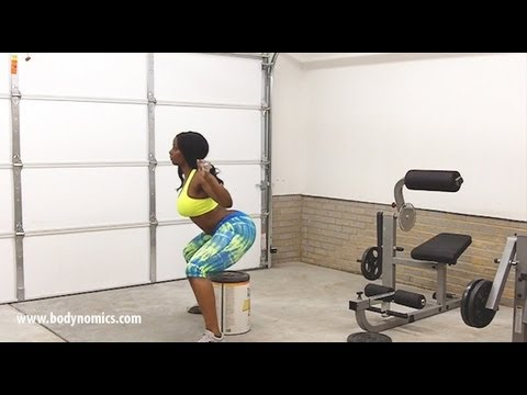 Booty Squats: Buffie The Body Shows You How To Feel Squats In Your Butt! video