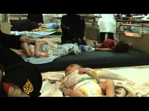 Iraq's children suffer from a war affected health-care