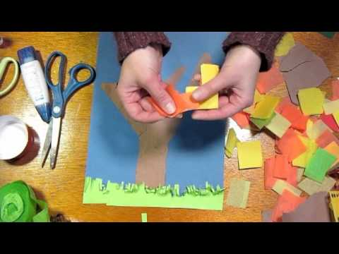 Fall collage kids craft youtube for Watch create and craft tv online