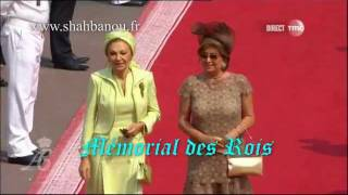 مراسم جشن عروسی شاهزاده آلبرت با حضور شهبانو فرح در موناکو