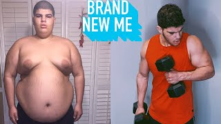 I Lost 230lbs In Under 2 Years - And Got Ripped | BRAND NEW ME