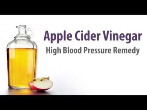 Apple Cider Vinegar  High Blood Pressure Remedy
