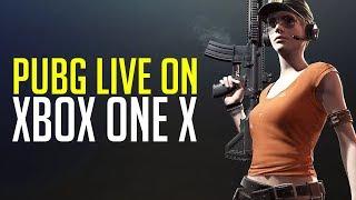 PUBG on Xbox One X - Squad Adventures (Playerunknown's Battlegrounds)