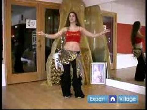 Beginner Belly Dancing Lessons : Hip Snap Move in Belly Dancing Video
