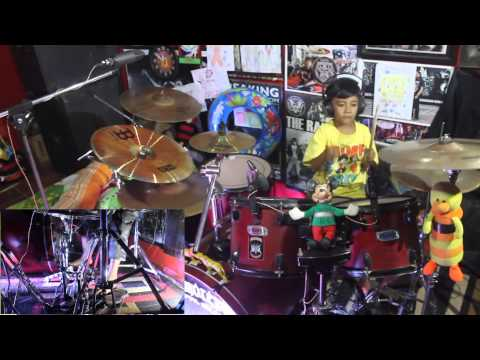 Nibras Romero - [Burgerkill] - Only The Strong (Drum Cover)