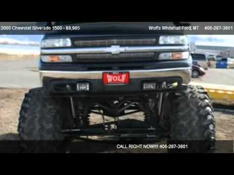 2000 Chevrolet Silverado 1500 Base - for sale in Whitehall, MT 59759