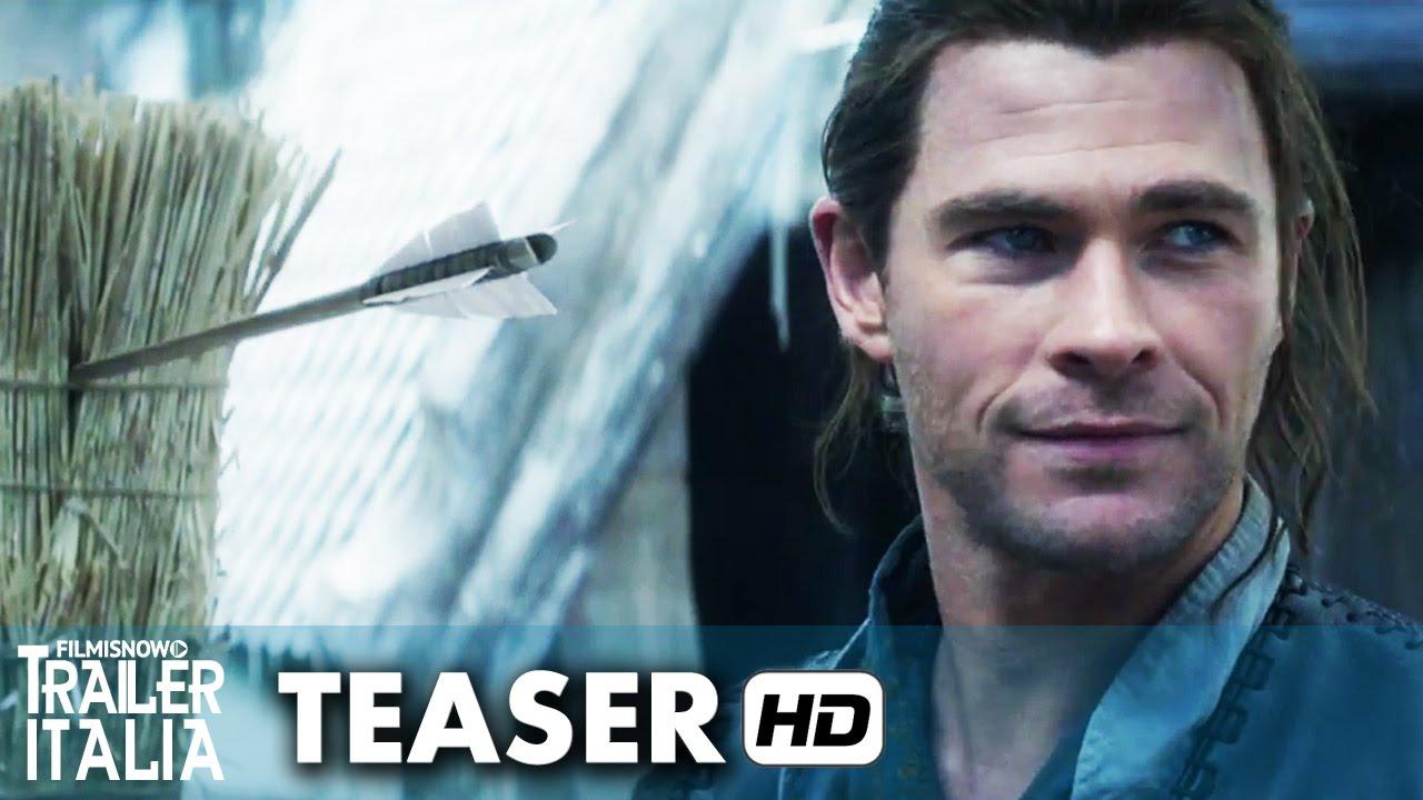IL CACCIATORE E LA REGINA DI GHIACCIO Teaser Trailer Italiano (2016) HD