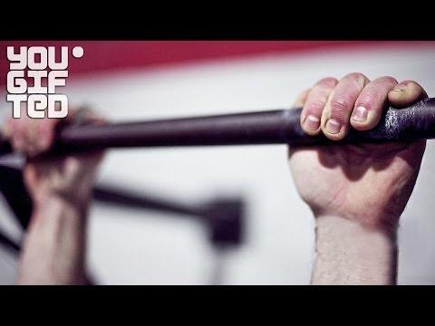 Видео как научиться делать выход силой
