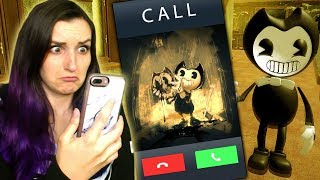 BENDY CALLED ME?! | Bendy and the Ink Machine Rip-Off App Games