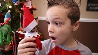 Nerf Life Lessons:  Don't Touch Elf on the Shelf!