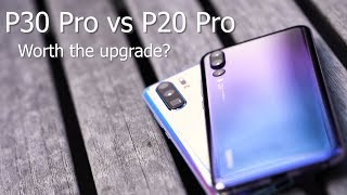 Huawei P30 Pro vs P20 Pro Camera Comparison / Worth the Upgrade?