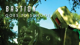 Overwatch In Real Life | Bastion Goes to School