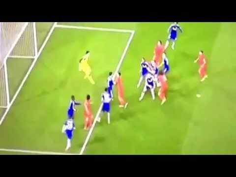 John Terry  Gary Cahill Thiago Silva Goal Chelsea vs PSG 2 2 HD