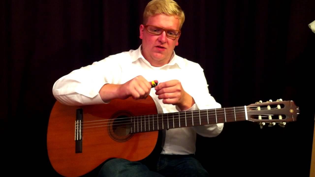 das gitarre spielen