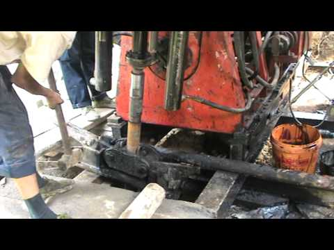 core drilling rig working process.MPG
