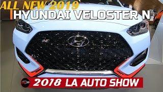 2019 Hyundai Veloster N Exterior and Interior Walkaround   2018 LA Auto Show