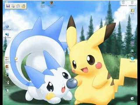 Pachirisu And Pikachu Love