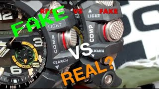 Compare a REAL VS FAKE MUDMASTER GG1000 - Review
